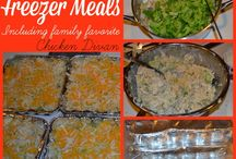 Freezer Meals / by Lindsay Allen