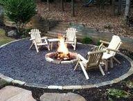 Garden landscaping outdoor area