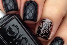 black nails / by Jill
