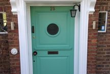 Leyspring front door