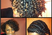 Chocolate hair with Vanilla care for J / by Kate M