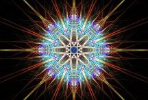 Crystal mandalas & Fibonacci