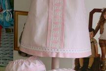 conjunto vestido rayas pique 3