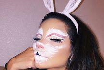 Rabbit makeup