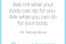 Love Bomb / Inspirational quotes by our founder, Dr. Melody Moore.
