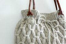 Knitting Bags, Purses & Clutches
