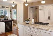 granite colors for white kitchen