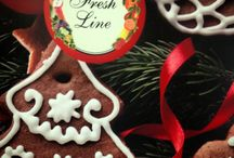 Christmas Gift Proposals / This holiday Fresh Line was inspired by the warm, sweet and spicy atmosphere of a homey Christmas welcoming! Chocolate biscuits, cinnamon sticks, vanilla and butter, coconut-almond and a zesty fresh twist make the perfect combination for delicious and gourmand Christmas presents for the family and friends!   #comingsoon #staytunned #macaron #biscuit #homey #fresh #cosmetics