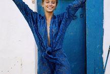 Blue Style / Street fashion