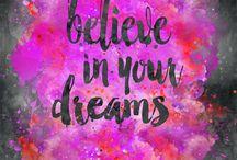Dreams & aspirations ❤️