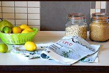 Kuchnia - zielono mi ... / Jeżeli zainteresował Cię wybrany element aranżacji wnętrza, znajdziesz go na www.home-idea.pl