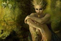 Faery / Fairies   Fairies  Magical Beings...