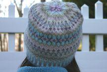 fair isle knitting / My Fair Isle style knitting designs