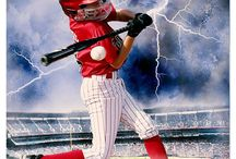 Baseball sports Photography Photoshop Template