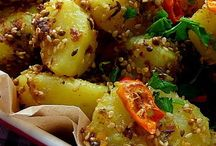 cury potato