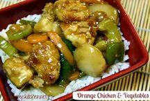 yummy Asian food