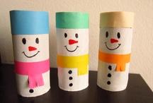 Riciclare i tubetti della carta igienica / Anche il tubo di carta igienica può servire...le idee più stravaganti e creative per riciclarlo risparmiando.