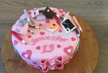 verjaardag taart / 13 jaar