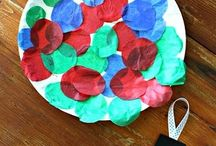 Nursery Christmas crafts