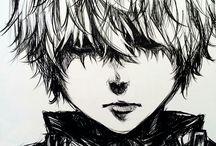 !♡Animes & Mangas, art