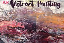 Abstract art tips