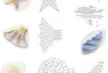 conchiglie,shell crochet