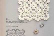 crochet - doilies, edgings, squares