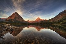 Glacier National Park Fine Art Gallery / A collection of my images from Glacier National Park. Glacier is one of my all time favorite places to visit. Best time to visit, Fall(Late September). The crowds are down. The trees are turning colors and the wildlife is active either storing up food for the winter or in fall rut. All my images are for Sale. You can find them and more at http://1-mark-kiver.pixels.com/collections/glacier+national+park or follow the link on the pin.