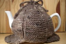 Tea and coffee cup cosies