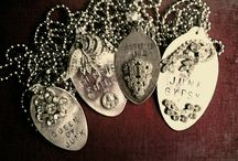 Spoons & Forks / Artful ideas using silver spoons and forks. / by Desert Gal Treasures