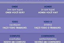 Português e inglês