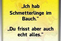 Funny Sprüche