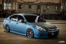 My Subaru Legacy pt.3 / Photoshoot by TalaOito & Estilo de Vida