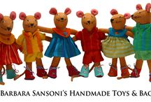Barefoot Toys by Barbara Sasoni / A Lady by the name of Barbara Sansoni, created the Barefoot concept out of need for a rehabilitation program for young Sri Lanka woman who had limited schooling and skills in 1958. All products are individually handmade to perfection and are all unique as they vary in colour from one to the other. There is a large range of products and these are some of the range that I stock ...you can see the whole range of products on my store