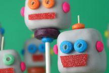 Pop Cake et gourmandises colorées / pop cake pour anniversaires