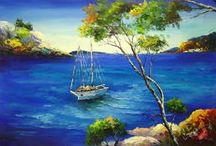 Peintures mer / La mer en peinture.
