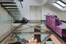 glassgulv