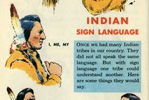 native American sign language 1954