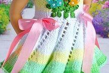 Для кукол вязание