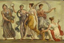 ancient art paint