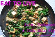 Stir Fry / Whole food, plant-based Nutritarian Stir Fry recipes brought to you by Love Chard - www.LoveChard.com