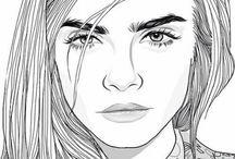 Draws Of Tumblr Girl