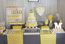 Yellow Baby Shower Ideas