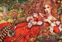 Сказочные иллюстрации Энн Ивонн Гилберт / Anne Yvonne Gilbert