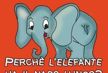 elefante, naso