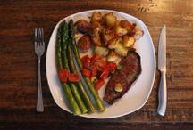 Rezepte - Hauptgerichte / Mal Fisch, mal Fleisch, mal Vegetarisch und ab und an sogar Vegan. Bei uns kommt so ziemlich alles mal auf den Tisch!