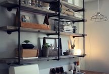 Industrial Theme Shelving