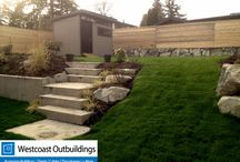 Westcoast Outbuildings | Contemporary Sheds, Storage Structures & Accessory Buildings / Westcoast Outbuildings is based in Vancouver BC. We prefabe and deliver buildings throughout North America. This board features all of our Contemporary Design Structures. Perfect as a storage shed, tool shed, backyard shed, backyard office, bike storage, tool storage, you name it.