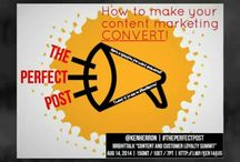 #ThePerfectPost Webinar | Teaser Trailer / From email to blogs to social, how to make your content marketing CONVERT!