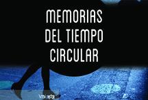 MEMORIAS DEL TIEMPO CIRCULAR / Primeros bocetos para la portada de cuatro novelas breves de Chely Lima